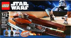 LEGO Star Wars Geonosian Starfighter 7959 NEW