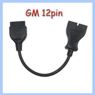 GM 12pin to OBD1 OBD2 connector diagnostic adaptor lead cable