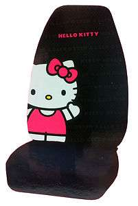 New Hello Kitty Red and Black Car Seat Cover Car Accessories