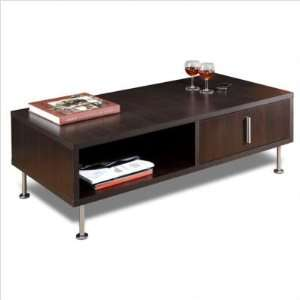 Liverpool Rectangular Wood Coffee Table in Espresso Furniture & Decor