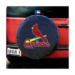 St. Louis Cardinals MLB Spare Tire Cover (Black) Sports