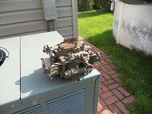 carter quadrajet carburetor chevy gmc buick