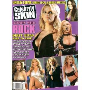 Celebrity Skin Magazine #134 Women Who Rock: High Society: