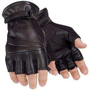 Tour Master Gel Cruiser Fingerless Gloves   X Large/Black