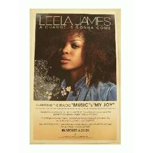 Leela James Poster A Change Is Gonna Come Gorgeous