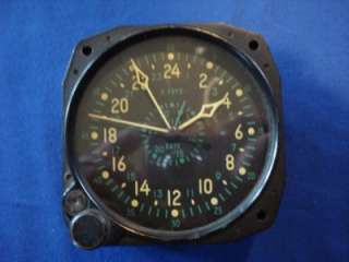 WWII ERA Waltham CDIA 8 Day Clock US Navy Marine Corps Aircraft Civil