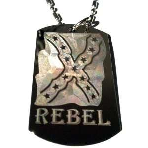 Novelty Rebel Confederate Flag Southern Red Neck Dixie