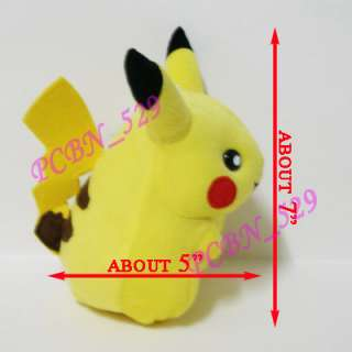 New Pokemon Plush Toy Doll Figure   7 Pikachu