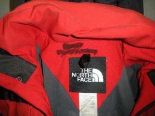 NORTH FACE STEEP TECH SCOT SCHMIDT RED BLACK JACKET COAT S SMALL MENS