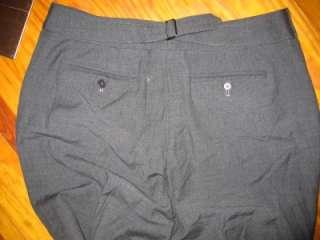 Ann Taylor Charcoal Gray Dressy Four Pocket Wool Blend Pant 6