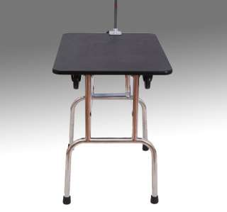 New Portable Folding Pet Dog Cat Grooming Table With Wheels 35x24