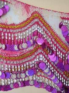BELLY DANCE Hip Scarf Coin Chain Belt 2012 NEW Design Colletcion