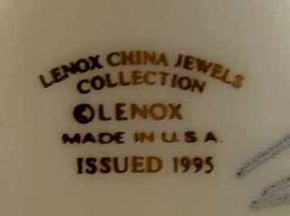 1995 Lenox USA Kneeling Praying Angel Cherub Figurine