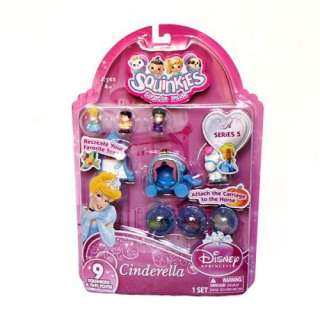 2012 NEW SQUINKIES SURPRIZE BUBBLE DISNEY PRINCESS CINDERELLA S5