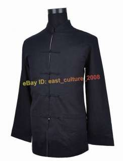 Chinese Men Reversible Black&Gray Jacket/Coat MHJ 29