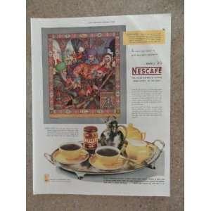) Original vintage 1946 The Saturday Evening Post Magazine Print Art