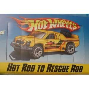 Wheels Color Shifters Hot Rod to Rescue Rod Off Track