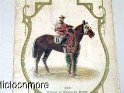 1924 OFFICAL PROGRAM CHURCHILL DOWNS KENTUCKY DERBY HORSE RACE JOCKEY
