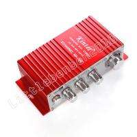 NEW Mini USB Car Boat Audio 2CH Stereo HIFI Amplifier amp Red