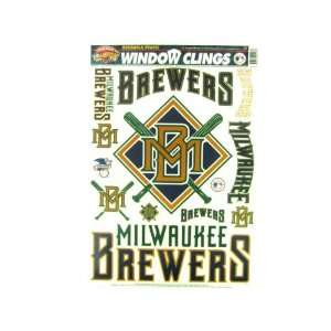 Milwaukee Brewers Window Clings Case Pack 60