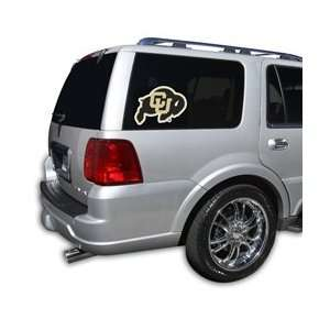 Colorado Buffaloes Die Cut Window Film   Large