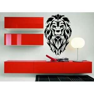 Lions Roar King of Jungle Big Cat Head Tribal Animal