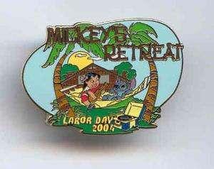 Disney LE Cast Labor Day Mickey Retreat Lilo Stitch Pin (UC32726
