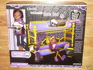Monster High Clawdeen Wolf Bed Review