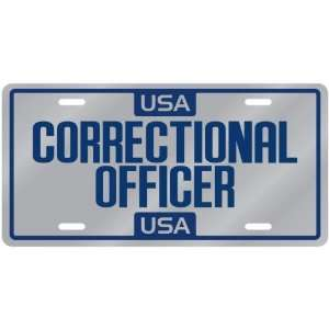New  Usa Correctional Officer  License Plate Occupations: