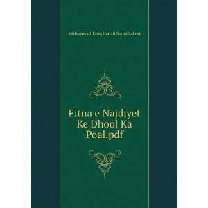 Ke Dhool Ka Poal.pdf Muhammad Tariq Hanafi Sunni Lahori Books