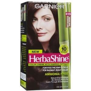 Garnier Nutrisse Herba Shine Hair Color Creme with Bamboo