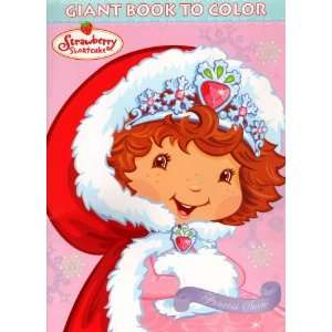 Strawberry Shortcake Giant Book to Color ~ Princess Snow Toys & Games