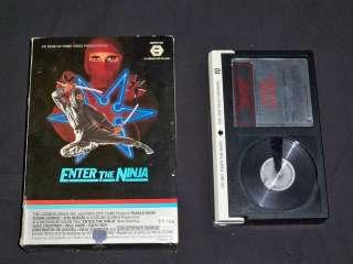 THE NINJA   BETA RARE MGM BOX   1981 Sho Kosugi Franco Nero