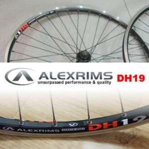 New Shimano Deore LX DH19 Alexrims V Brake F&R MTB Wheel set Wheels