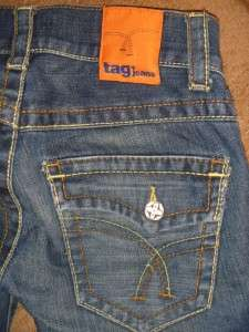 169 TAG Brand Flap Pocket True Skinny Jeans Shorts 26 28 Miss Me