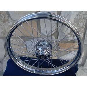 21X2.15 40 SPOKE CUSTOM FRONT WHEEL FOR FXST HARLEY SOFTAIL AND DYNA