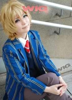 Uta no Prince sama Natsuki Shinomiya Short Blonde Cosplay Wig