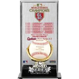 St. Louis Cardinals Gold Glove Baseball Display Case  Details 2011