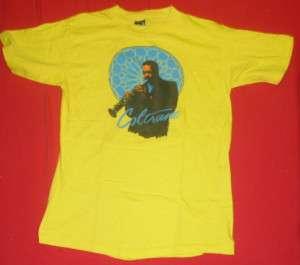 Vtg JOHN COLTRANE T Shirt L SOFT THiN Jazz Saxophone