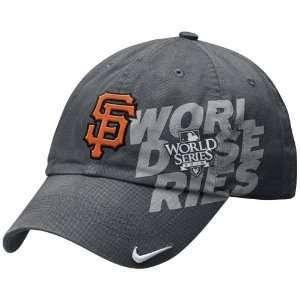 Nike San Francisco Giants Charcoal 2010 World Series Bound