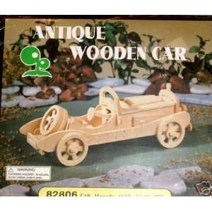 Antique Wooden Car 82806 Toys & Games