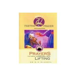 Seventy Day Prayers and Fasting Book (MFM) Dr D. K. Olukoya Books