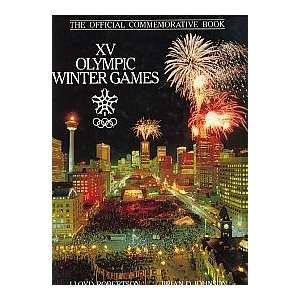 XV Olympic winter games The official commemorative book