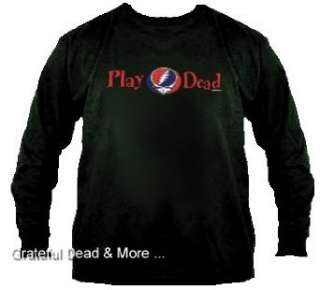 Grateful Dead Play Dead Long Sleeve T Shirt: Clothing
