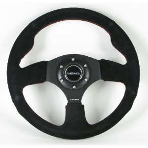 NRG Steering Wheel   12 (Race)   320mm (12.60 inches)   Black Suede