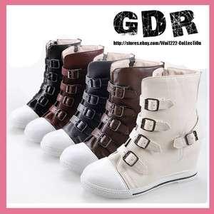 PUNK BOOTS #404076 CREEPER Shoes US 6 8.5 Eur 35 39