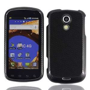 For Sprint Samsung D700 Epic 4g Accessory   Carbon Fiber Design Hard