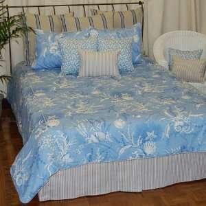 Dakotah By The Sea Blue King Duvet: Home & Kitchen