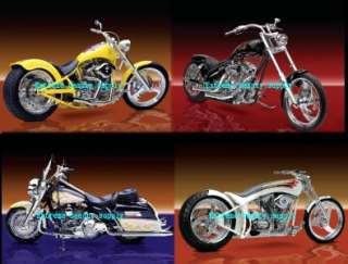 Ultimate Custom Hot Rides HARLEY DAVIDSON MOTORCYCLES 2012 calendar
