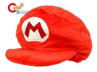 Nintendo Super Mario Bro Large Plush Hat Cushion/Pillow